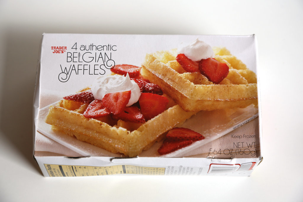 Trader Joe's Authentic Belgian Waffles ($2)
