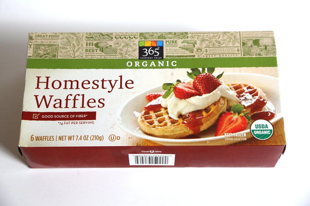 365 Organic Homestyle Waffles ($3)