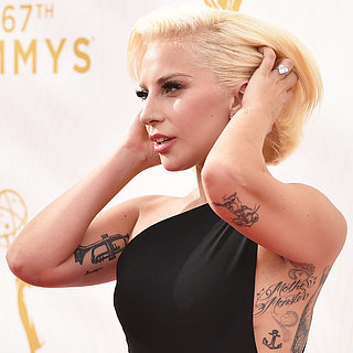 Lady Gaga Tapis Rouge Emmy Awards 2015