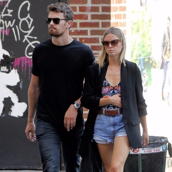 Theo James and Ruth Kearney in New York City | Pictures