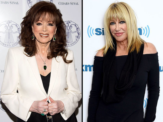 Suzanne Somers on Jackie Collins' Death: She Was a 'Bright Light in Hollywood, Loved by Everyone'