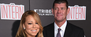 Mariah Carey Beams Alongside James Packer on the Red Carpet