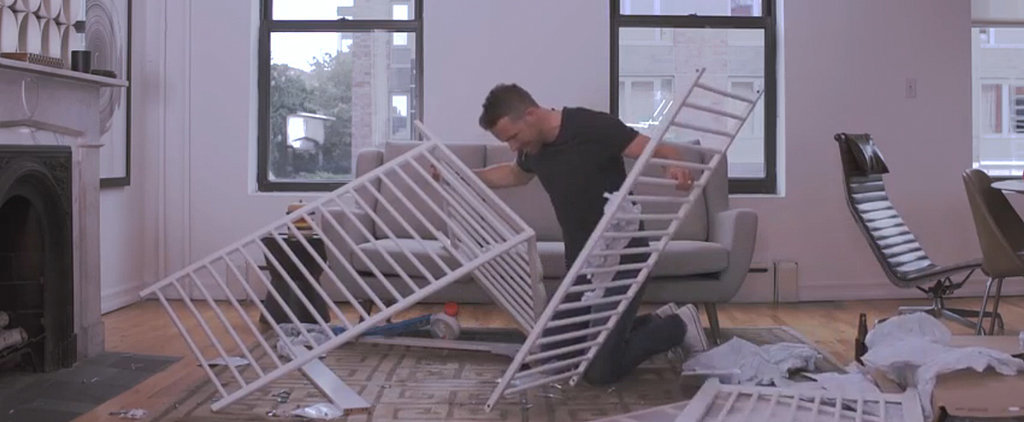 Watch Ryan Reynolds Lose His Mind While Assembling an Ikea Crib