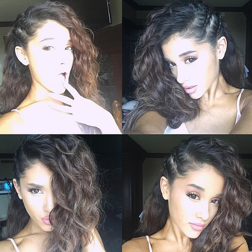 Ariana Grande With Curly Hair