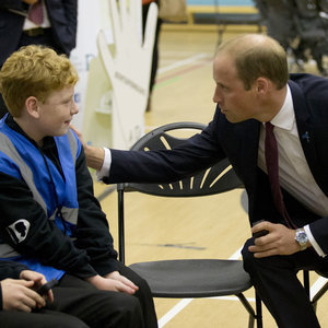 Prince William Visits School in Hammersmith September 2015