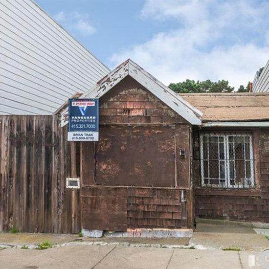 San Francisco Shack Selling For Less Than $400K