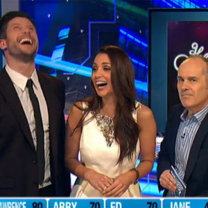 Sam Wood and Snezana on Have You Been Paying Attention