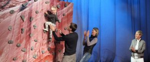 Meet the 1-Year-Old Rock-Climbing Baby Who Wows Ellen DeGeneres