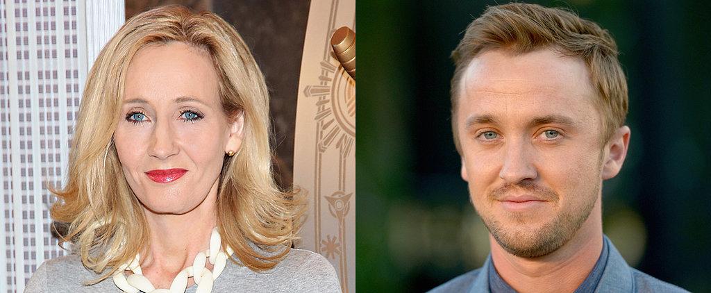 J.K. Rowling Shares the Perfect Birthday Message For Tom Felton AKA Draco Malfoy