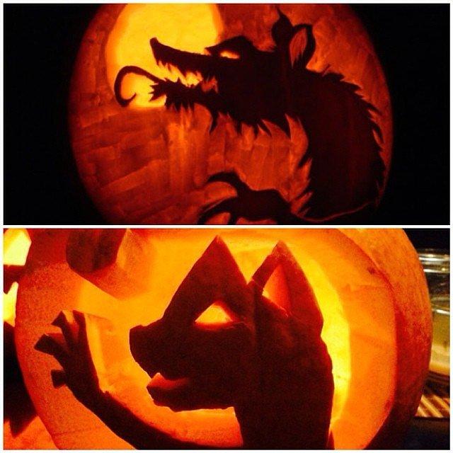 Werewolf Pumpkin