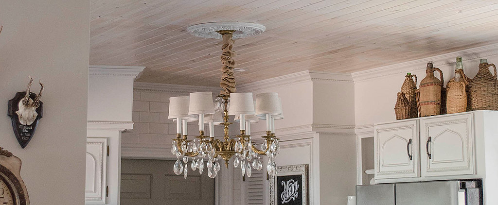 The Easy and Affordable Way to Cover a Popcorn Ceiling