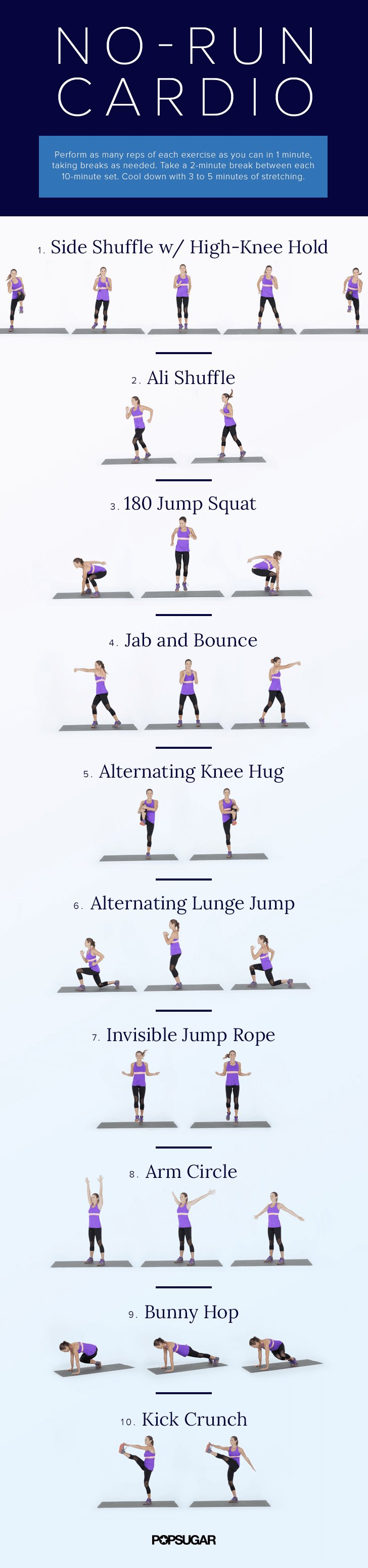 Workouts to do inside popsugar fitness australia for Living room routine