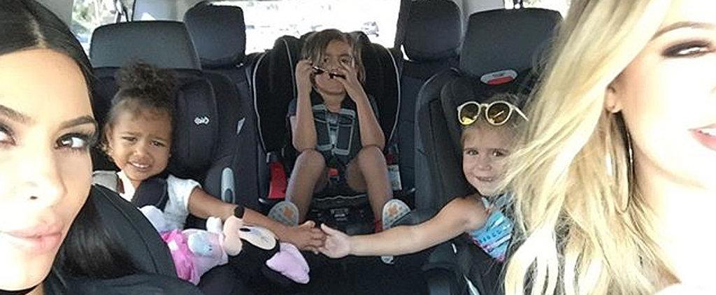 Kim Kardashian Shares the Sweetest Photo of North, Penelope, and Mason