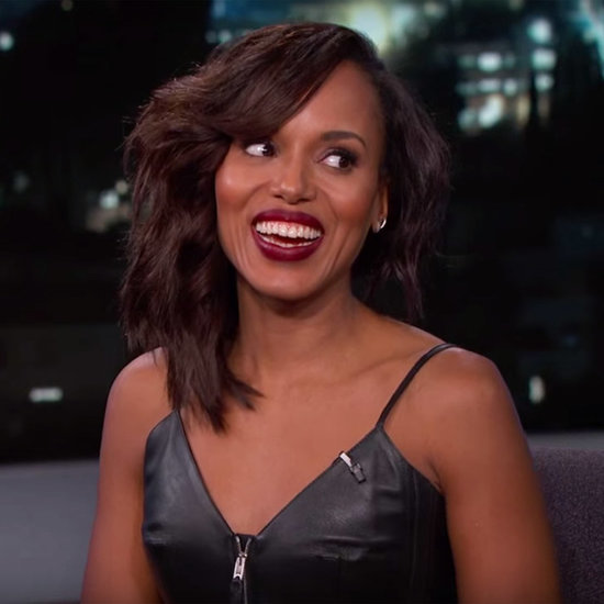 Kerry Washington Interview About Scandal on Jimmy Kimmel