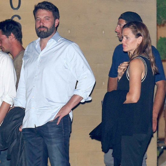 Ben Affleck and Jennifer Garner Dinner at Nobu Malibu