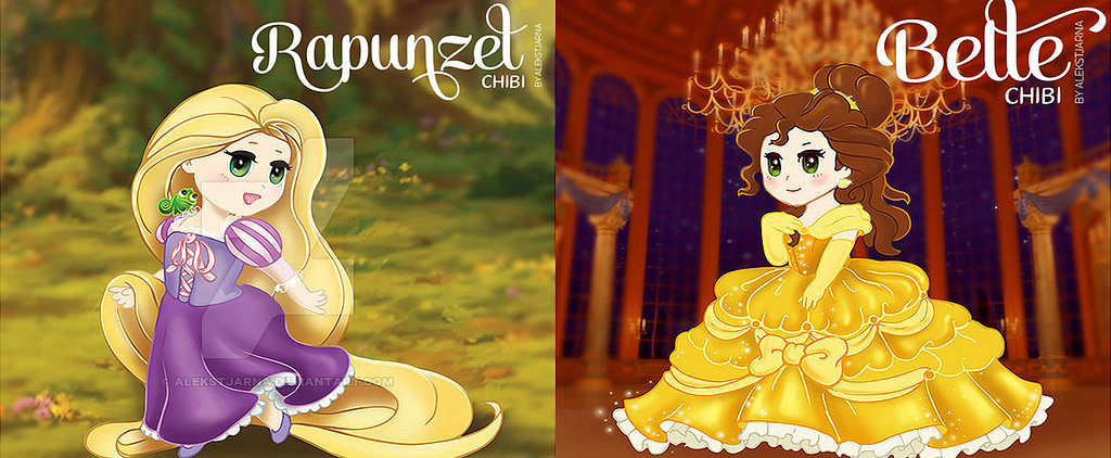 The Most Adorable Disney Princess Illustrations We've Ever Seen