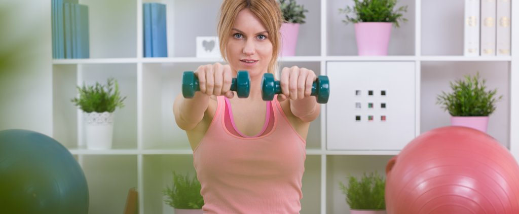 The Perfect Postpartum Workout You Can Do at Home