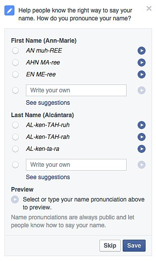 Let People Know How to Pronounce Your Name