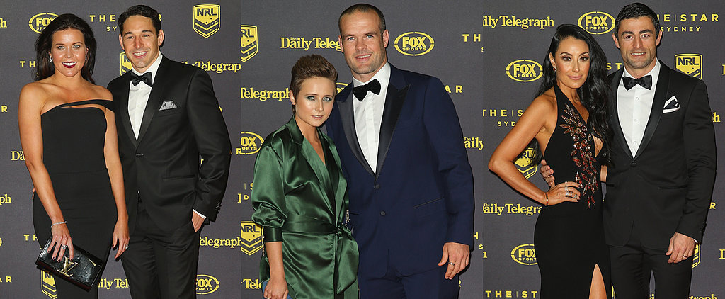 NRL's Hottest Couples Light Up the 2015 Dally M Awards Red Carpet