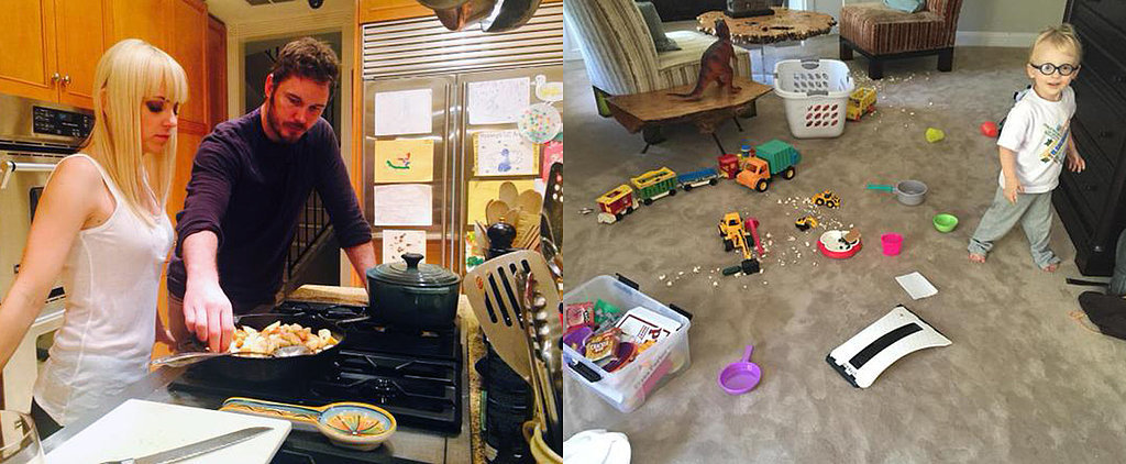 15 Times Chris Pratt and Anna Faris' Home Looked Just Like Ours