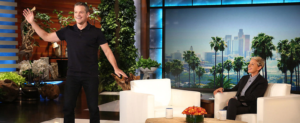 Matt Damon Has the Most Dad Dance Moves You Will Ever See