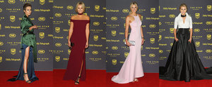 The WAGs Looked Seriously Sexy on the Dally M Red Carpet