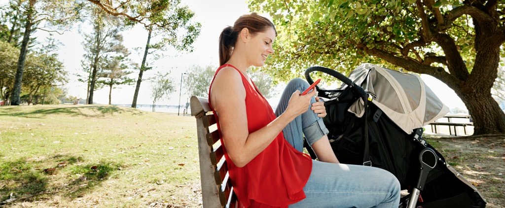Yes, I'm That Mom on Her Phone at the Playground