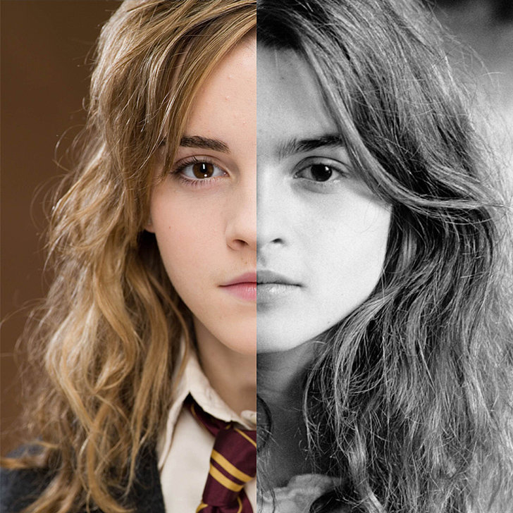 Emma Watson Looks Like Helena Bonham Carter | POPSUGAR Celebrity UK