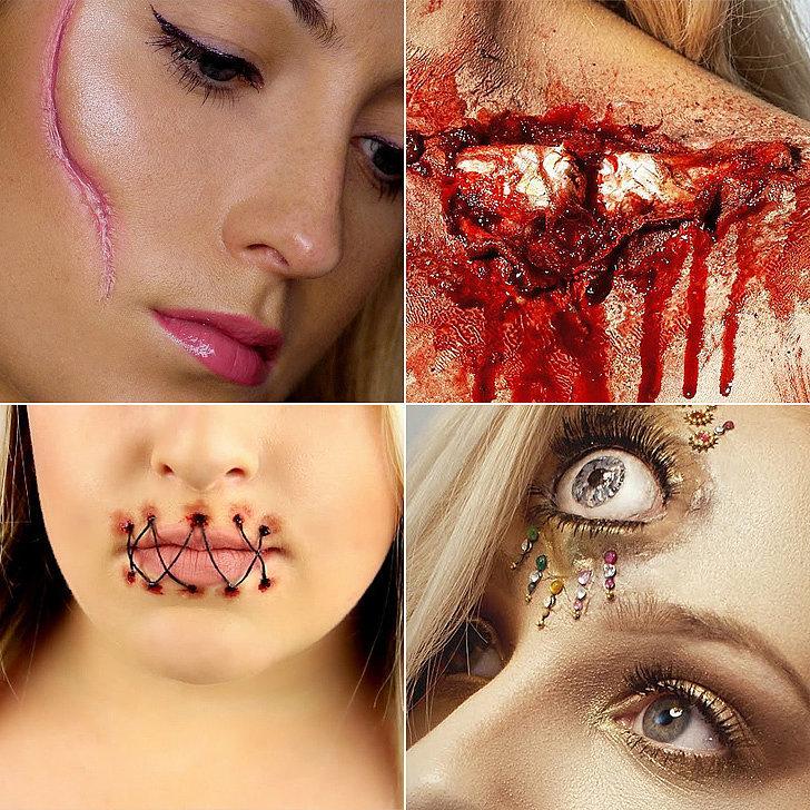 halloween special effects makeup tutorials popsugar beauty. Black Bedroom Furniture Sets. Home Design Ideas