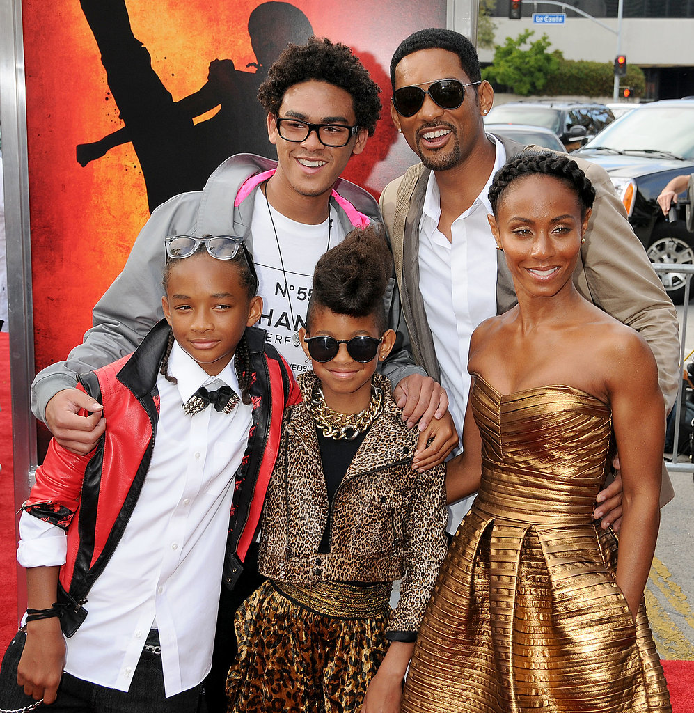 Will Smith and His Fam...