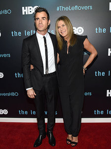 Meet the Therouxs! Jennifer Aniston and Justin Theroux Make First Joint Public Appearance as a Married Couple