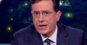 Stephen Colbert Talks Oregon Shooting From The Heart