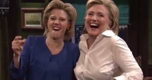 Hillary Clinton Mocks Trump, And Herself, On 'SNL'