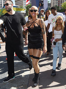 Amber Rose Leads Hundreds for Her First-Ever 'SlutWalk' in L.A.