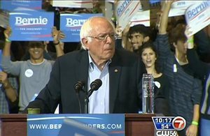 Bernie Sanders Excites Bostonians With Call To Fight Racism And Reform Gun Laws