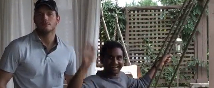 "Chris Pratt and Aziz Ansari Star in ""A Short Film"" by Jennifer Lawrence and Amy Schumer"