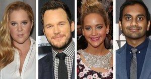 Jennifer Lawrence, Amy Schumer, Aziz Ansari And Chris Pratt Are Our New Favorite Squad