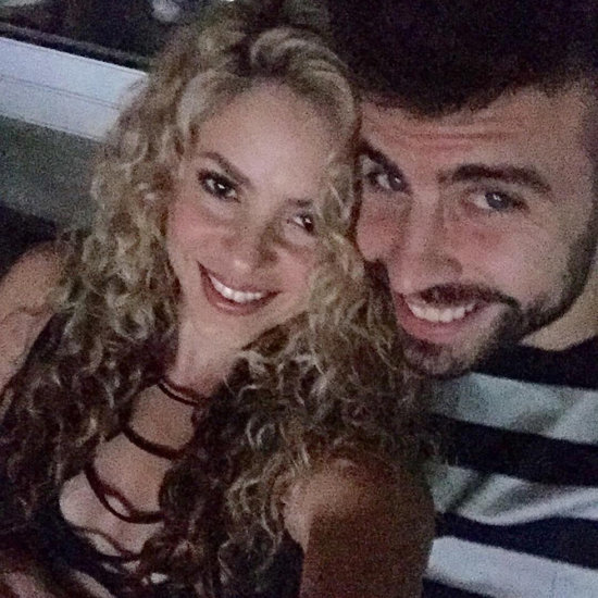Shakira and Gerard Pique Cute Date-Night Selfie