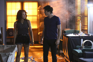 'The Vampire Diaries' Episodes 7.2 and 7.3 Photos: Damon and Bonnie Fight the Heretics