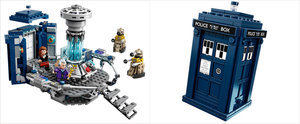 Finally, Photos of the Lego Doctor Who Set Are Here, and It Looks Stunning