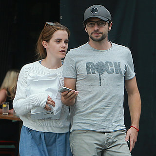 Emma Watson With New Boyfriend Roberto Aguire