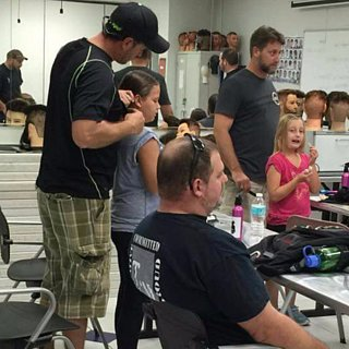 Dad Holds Class to Teach Dads to Do Their Daughters' Hair