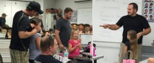 Single Dad Creates a Hair Class For Dads to Learn How to Do Their Daughters' Hair