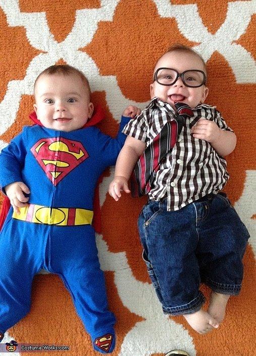Superman and Clark Kent