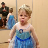 You Have to See This Dad's Reaction to His Son Dressing Up as Frozen's Elsa For Halloween