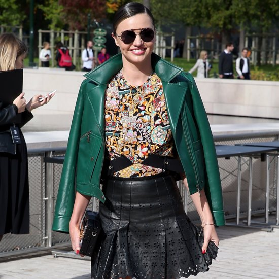 Miranda Kerr Street Style at Fashion Week Spring 2016