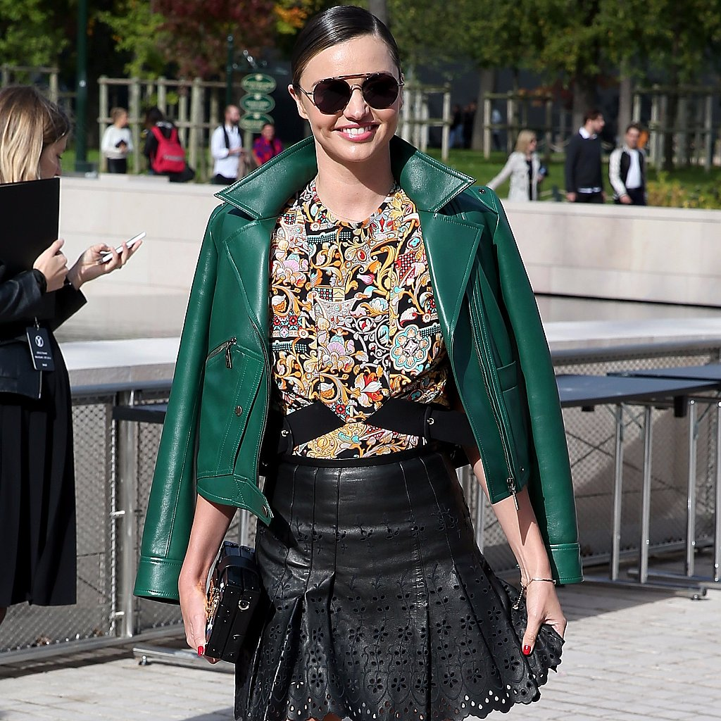 Miranda Kerr Street Style At Fashion Week Spring 2016 Popsugar Fashion