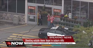 Michigan Woman Opens Fire On Shoplifters At Home Depot, Because That's Appropriate