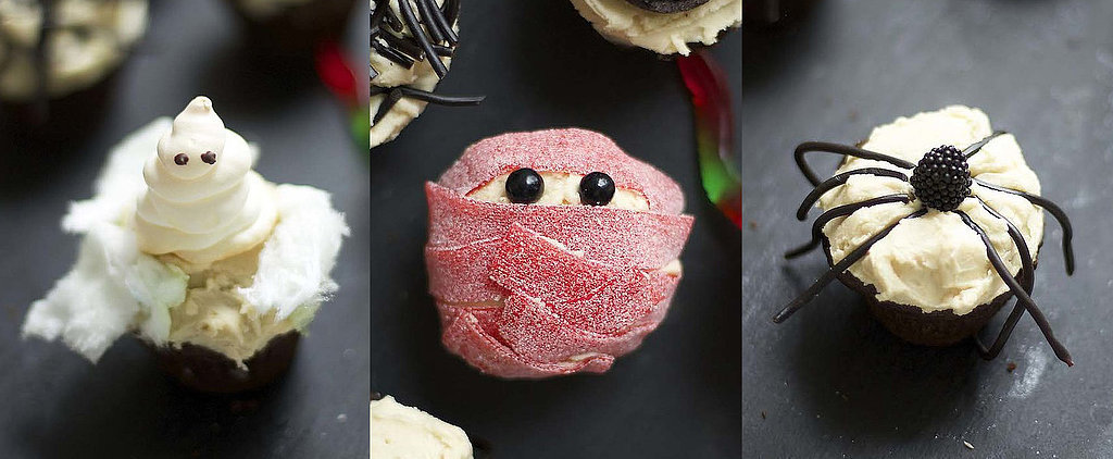 Deck Out Halloween Cupcakes With These Creepy-Cute Toppers