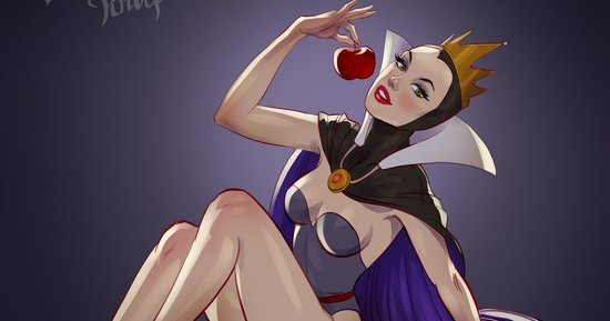 Disney Villains As Pinup Girls Will Put A Spell On You
